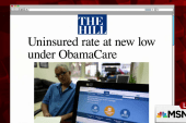 Uninsured rate falls to new low