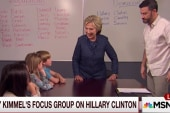 Kimmel hosts kids' 'focus group' on female...