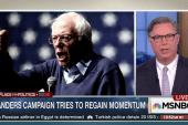 Sanders seeks to differentiate himself...
