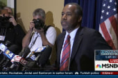 Carson defends West Point story