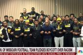 Missouri football team pledges boycott