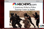 Two Americans killed at training center in...