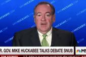 Huckabee to Carson: You ain't seen nothin,...