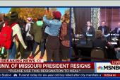 University of Missouri president resigns