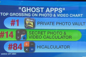 Kids use 'ghost apps' to hide activity