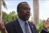 Carson attacks media in response to scrutiny