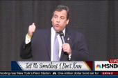 Poll numbers Chris Christie isn't happy about