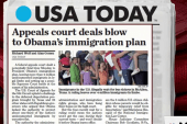 Obama's immigration plan suffers setback