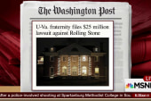 UVA frat sues RollingStone for $25 million
