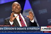 Ben Carson's debate strategy