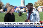 Mizzou football returns to practice