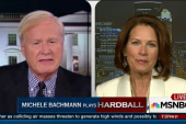 Bachmann weighs in on Clinton run