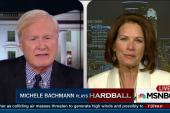 Bachmann weighs in on Clinton run
