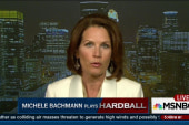 Bachmann: Clinton put herself in the...