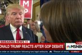 Trump: Tuesday's debate 'really, really good'