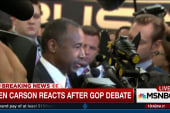 Ben Carson sounds off on Tuesday's debate