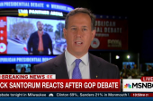 Santorum cites challenge of Democratic unity