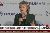 Clinton rolls out plan to reform the VA