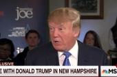 Trump on debate, Putin, China, minimum wage