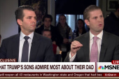 Trump's son: He's an American and he's a...