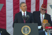 Obama speaks at Veterans Day Ceremony