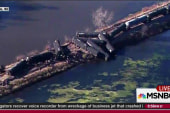 Wrecked oil train had passed nuclear silos
