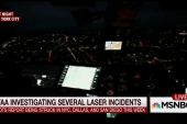 Pilots in several US cities report laser...