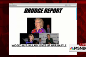 Conservative site wonders if Clinton's...