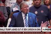 Trump mentions molestation in Carson rant