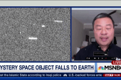 Mystery space debris enters Earth's...