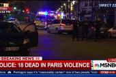 Police: At least 18 dead in Paris attacks