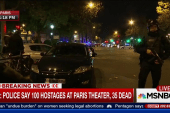 Hostages reportedly held at Paris theater