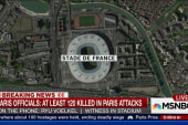 Witness describes hearing blasts near stadium