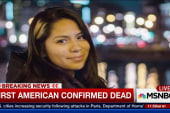 First American confirmed dead