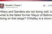 Trump tweets against debate criticism