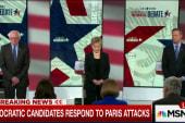 Paris attack dominates Democratic debate