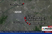 People seen running near Paris plaza