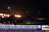 France bombs ISIS targets inside Syria