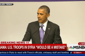 Obama defends ISIS strategy