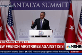 Third set of airstrikes launched against ISIS