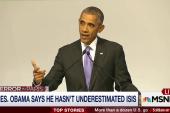 Joe: Obama standing alone on response to ISIS