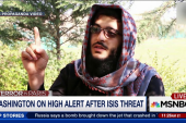Washington on high alert after ISIS threat