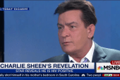 Charlie Sheen: I am HIV-positive