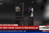 New video showing chaos outside Bataclan