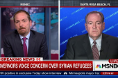 More Governors Oppose Syrian Refugees