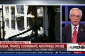 Air strikes pummel ISIS in Syria