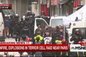 Gunfire, explosions in terror raid near Paris