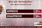 Poll: 31 percent approve of Obama's ISIS...