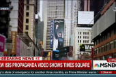 New ISIS video shows Times Square