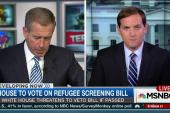 GOP Sen.: House refugee screening bill...